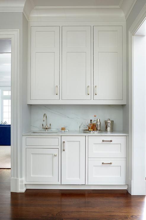 Butler Pantry Nook With Sink Transitional Kitchen