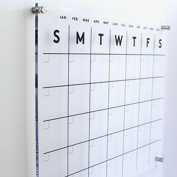 Etsy Acrylic Wall Calendar Look For Less