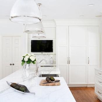 Television In Kitchen Island Design Ideas