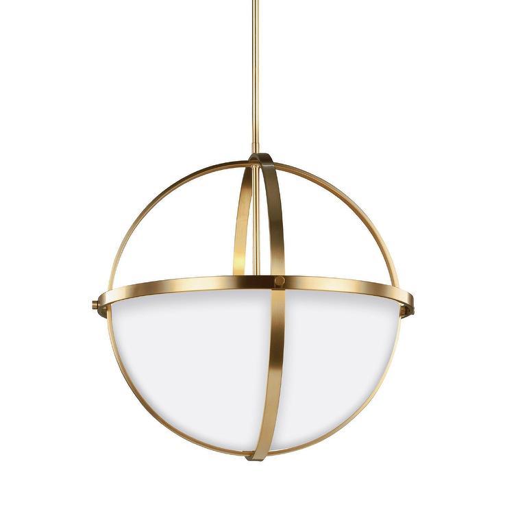 Morningside drive brass globe pendant aloadofball Choice Image
