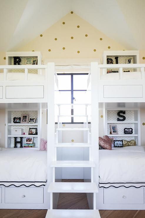 End To End Built In Kids Beds With Drawers Cottage Boy