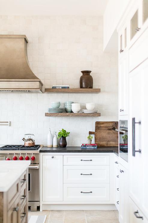 Good Antique Nickel French Kitchen Vent Hood