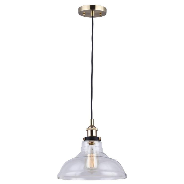 Pb Classic Pendant Ribbed Glass Pottery Barn