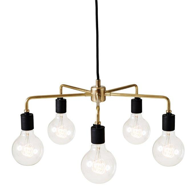 promo code bf847 2e512 Tribeca Leonard 5 Light Sputnik Chandelier