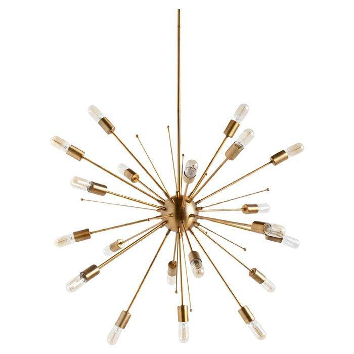Violet 20 light sputnik gold chandelier aloadofball Choice Image