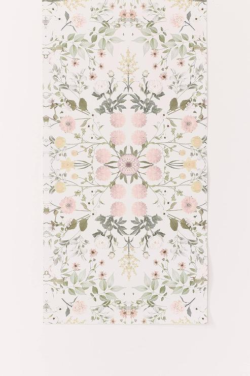 Daniella Blush Floral Removable Wallpaper