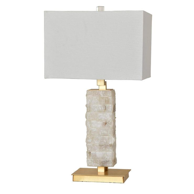 Haylow marble brass table lamp aloadofball Images