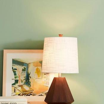 Grayson Wood Prism Table Lamp