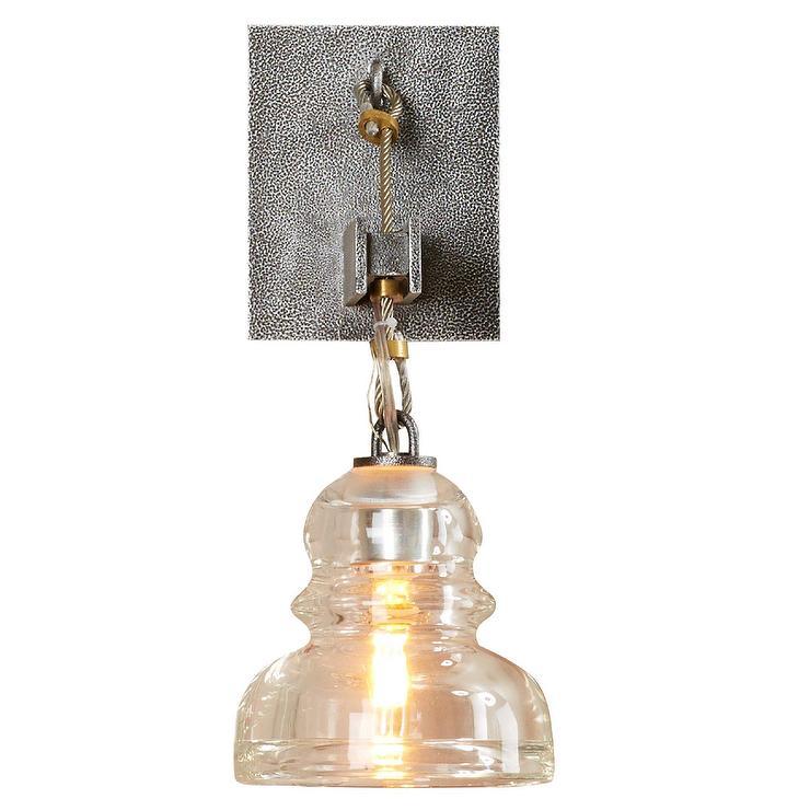 Ventura Silver Metal Glass Shade Wall Sconce  sc 1 st  Decorpad & Silver Metal Glass Shade Wall Sconce azcodes.com
