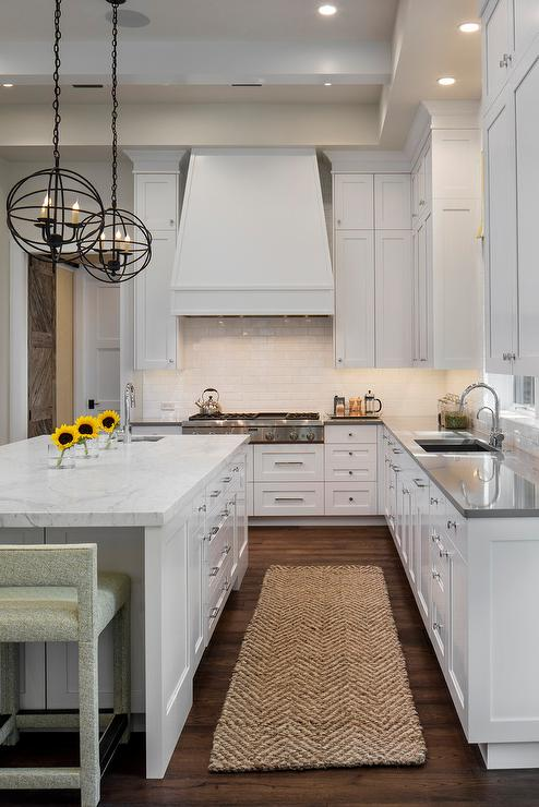 Image Result For Gray And White Transitional Kitchen