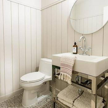Vertical Shiplap Bathroom Walls Design Ideas