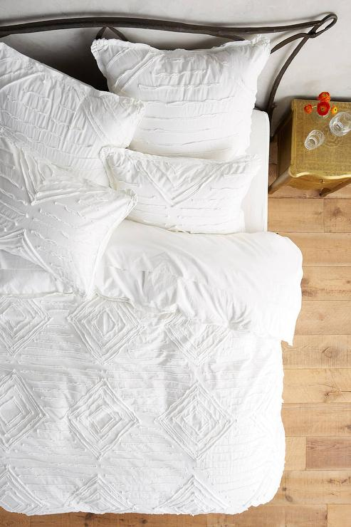 white textured duvet cover White Diamond Textured Vesper Duvet white textured duvet cover