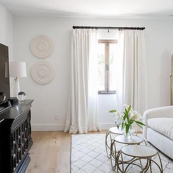 Gold Moorish Style Floor Mirror