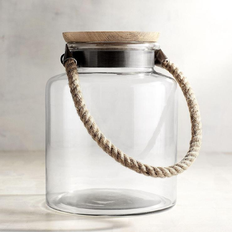Mercury Glass Canisters West Elm