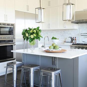 Curved Kitchen Island Overhang Design Ideas