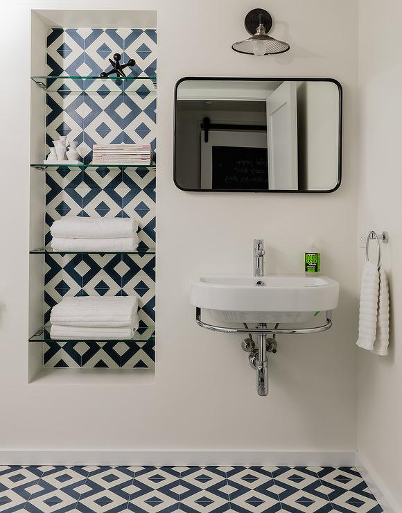 Recessed Bathroom Shelving Design Ideas, Recessed Bathroom Shelving