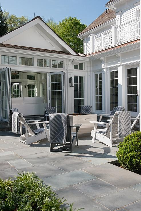 Black And White Adirondack Chairs
