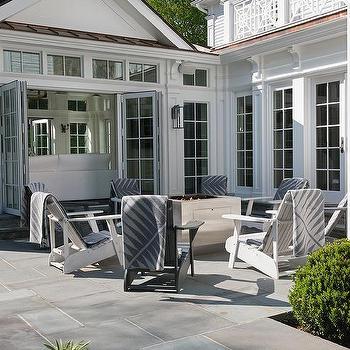 Black And White Adirondack Chairs