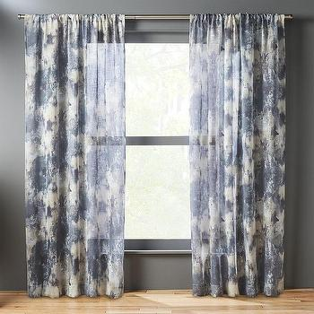 polyester fabric in room curtains blue and white floral curtain teen p
