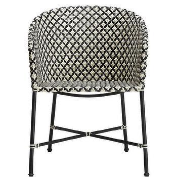 Triangular Jute Woven Chair