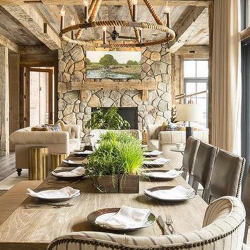 Rope Dining Room Chandelier Design Ideas