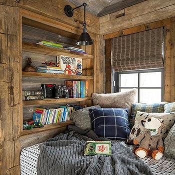 Country Cabin Reading Nook Design Ideas