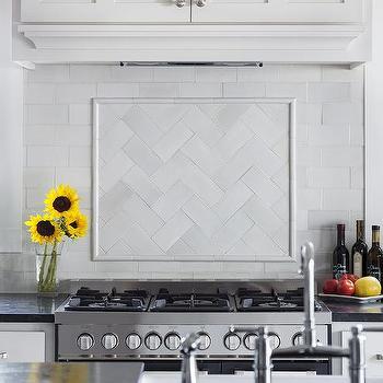 White Subway Kitchen Wall Tiles Design Ideas