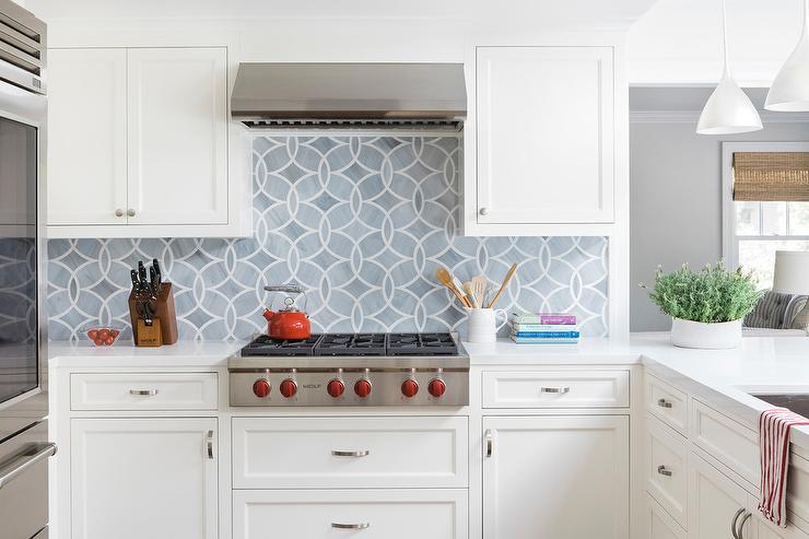 ann sacks glass tile backsplash. Gray Mosaic Glass Tile Backsplash With White Cabinets Ann Sacks A