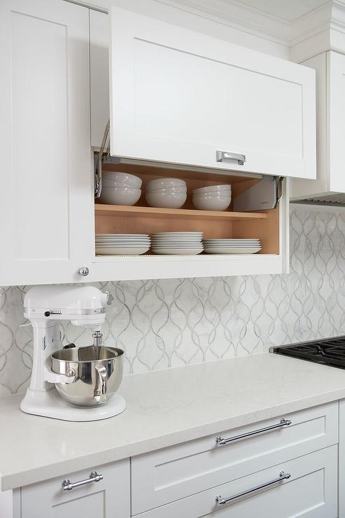 Garage style kitchen cabinets transitional kitchen for Kitchen units in garage