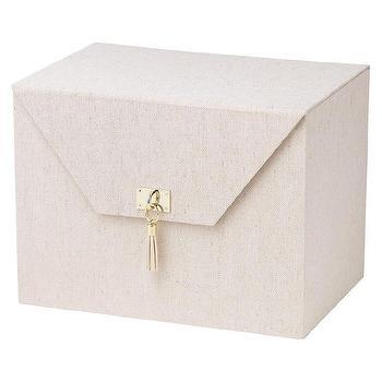 Clear Livy File Box