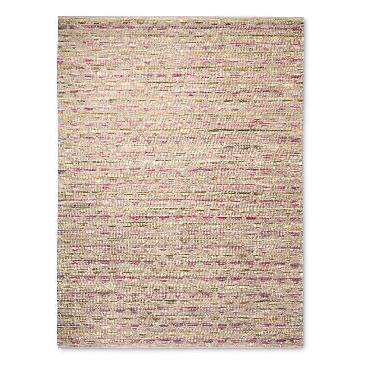 Trellis Shine Slate Wool Rug