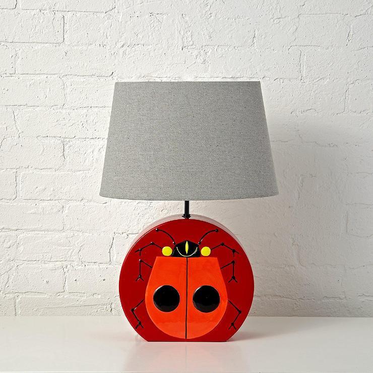 Harper ladybug table lamp charley harper ladybug table lamp mozeypictures Gallery