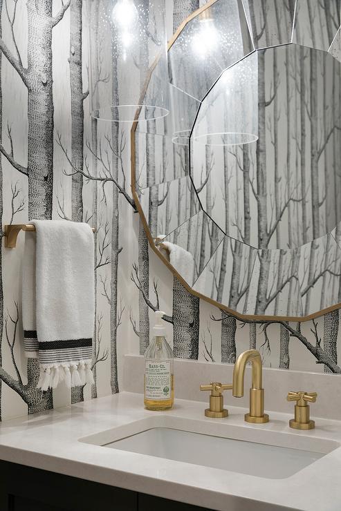 Brushed Gold Bathroom Faucet Design Ideas
