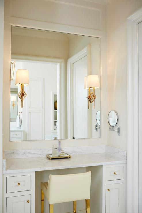 Bathroom Color Scheme | White And Ivory Bathroom Color Scheme Transitional Bathroom