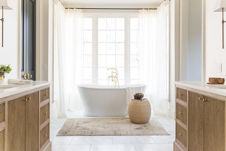 Reeded Bath Vanity Design Ideas