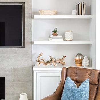 Fireplace Floating Shelves - Design photos