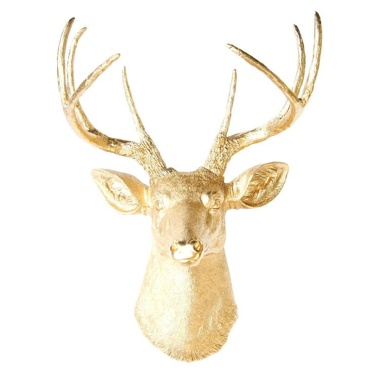 Faux Taxidermy Deer Head Wall Décor