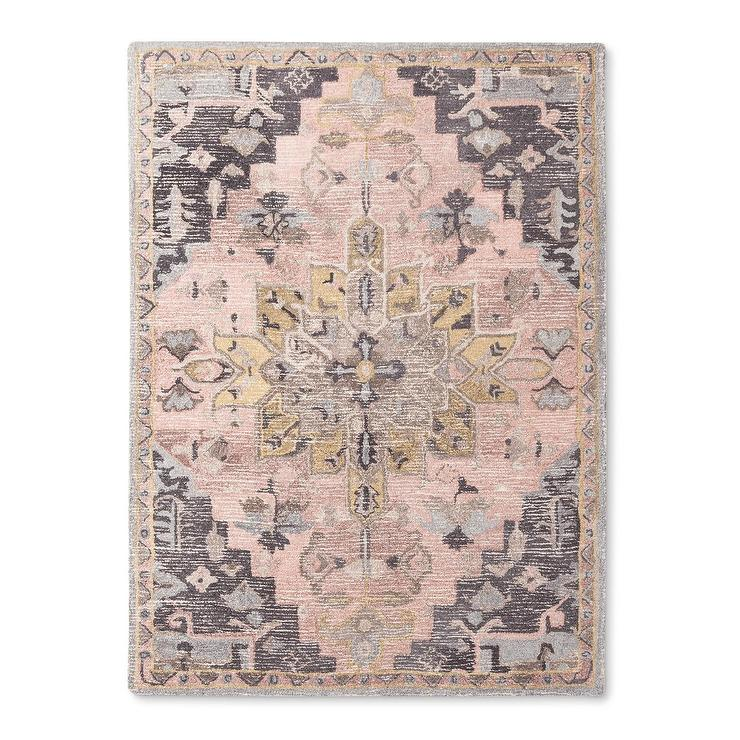 Camila Pink Purple Tufted Area Rug