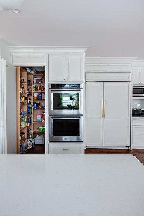Hidden Pantry Design Ideas