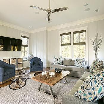 Black Living Room Transitional Living Room Candace