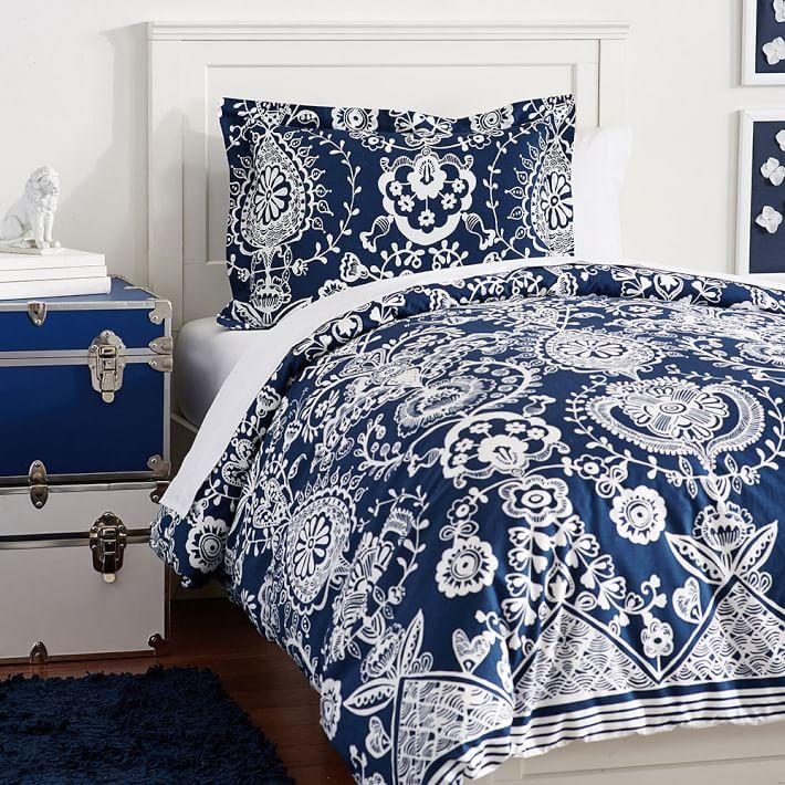 and sham bedding bed cover white htm tassel bookmark navy duvet