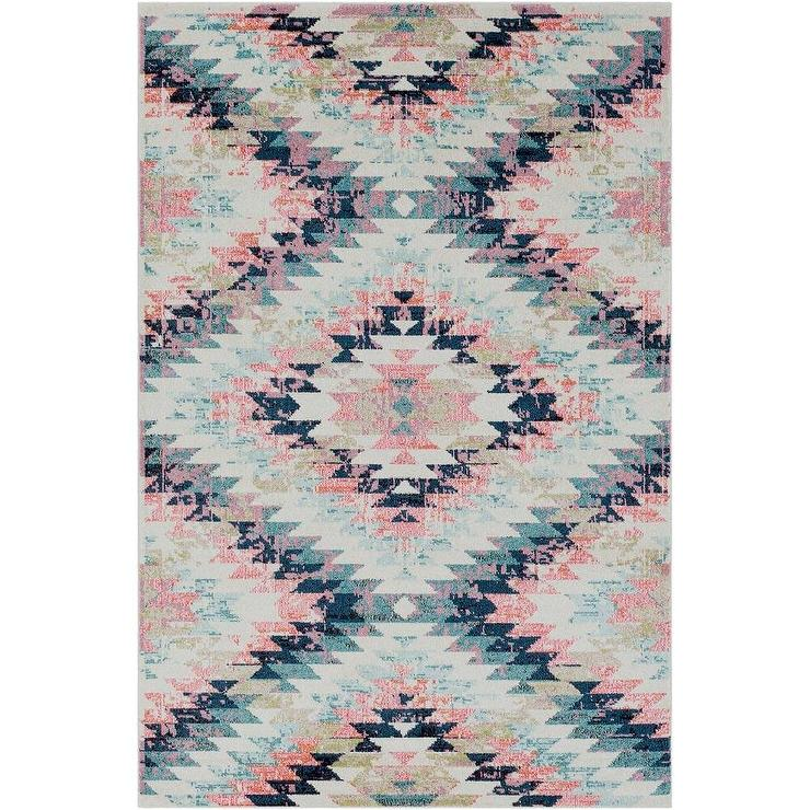 navy rug aztec rugs sensational area and pink