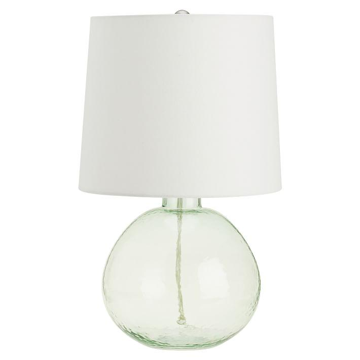Pottery Barn Atrium Lamp: Clift Glass Table Lamp Base