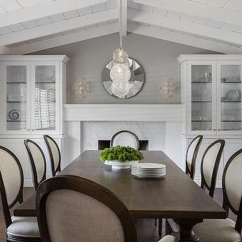 Fresh Dining Room With Fireplace Ideas House Generation