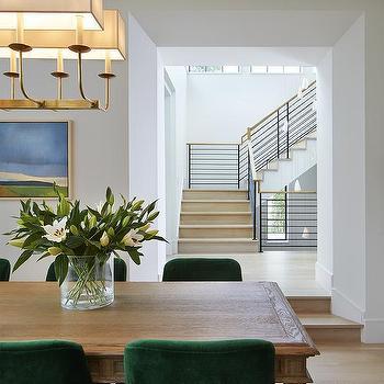 Green Velvet Dining Chairs Design Ideas