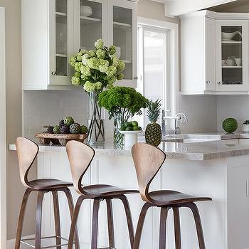 Phenomenal Mid Century Modern Wood Kitchen Counter Stools Design Ideas Pabps2019 Chair Design Images Pabps2019Com