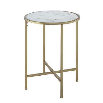 Brasserie Cafe Table W Marble Top