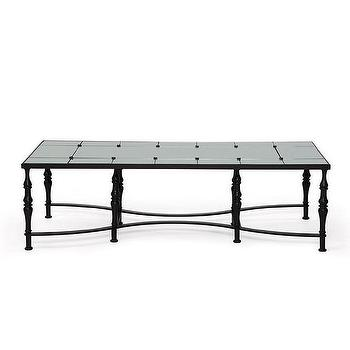 safavieh couture collection cambria acacia black and gold coffee table