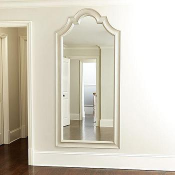 White Wood Frame Mirror - Products, bookmarks, design, inspiration ...