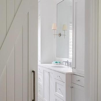 Master Bathroom Barn Door master bath barn door design ideas
